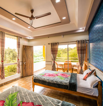 4 Person room with View